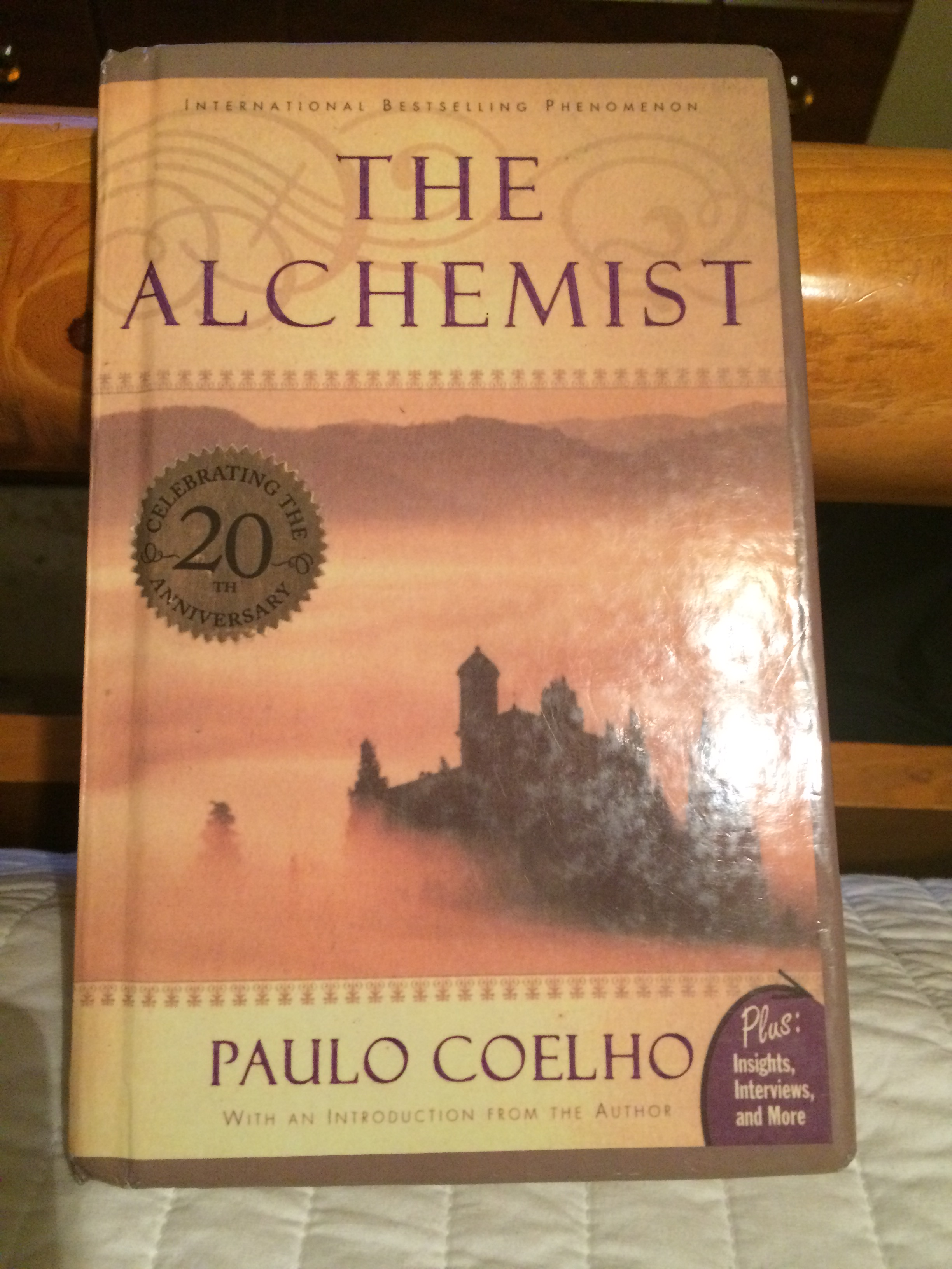 alchemist by paulo coelho The author of one of the most popular books in this or any language, paulo coelho, opens up about dreams, destiny, and the only thing he believes will ever .