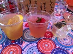 Three drinks minus one