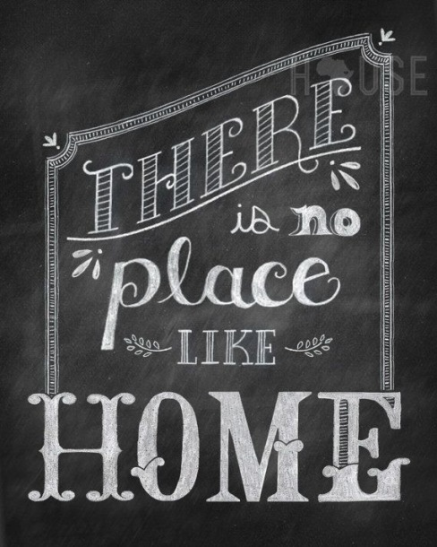 Home Saying