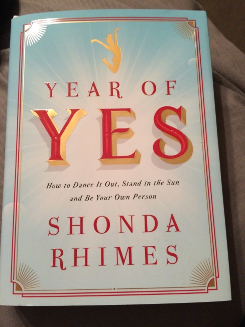 Year of Yes book cover