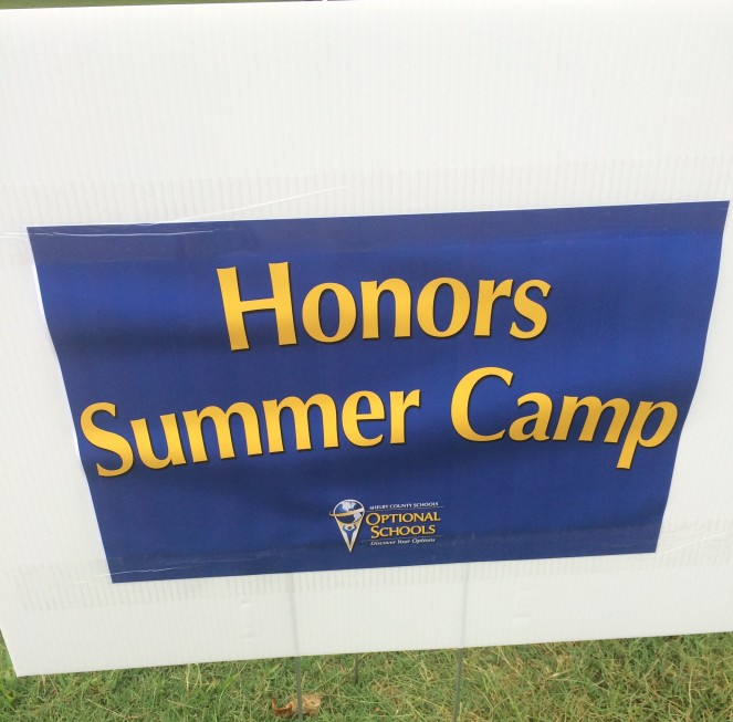 Honors Camp