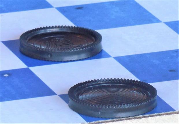 checker-piece